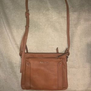 Enzo Angiolini Brown Crossbody Bag